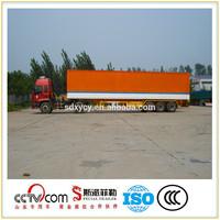 Insulated semi trailer and van semi trailer