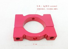 16mm aluminum clamp pipe clamp 16mm Tube clamp customization