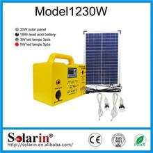 portable small home high lumens soalr lantern with solar powered