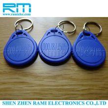 High quality useful sticker 13.56mhz rfid key tags
