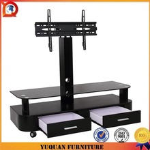 Italian design modern led tv stand with MDF drawers