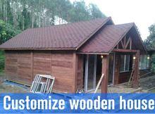prefab living time modular villa prefab house WOODEN HOMES