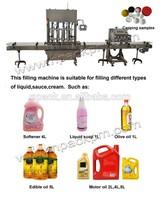 automatic chocolate sauce /fruit jam/tomato paste bottle filling machine