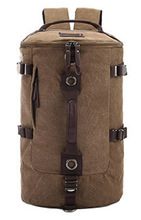 Canvas Men's Backpacks Large Capacity Camping Travel Bags For Men