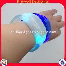 Led Flashing Bracelet Christmas Decoration/Remote Controlle Wristband Manufacturers