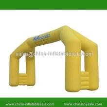 2015 Guangzhou China cheap inflatable finish line garden arch gate