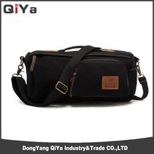 Fashion Custom Canvas Travel Shoulder Camera Bag For Men