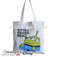 2015 Custom Quality Shopper Tote Bag/Big Shopper Tote Bag/Unbleached Cotton Shopper Tote Bag