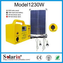 newest home use mini 60w led solar powered light pole price list