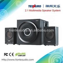 2.1 channel multimedia speakers/wood speakers/subwoofer speakers