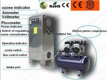 Ozonating water treatment / 100g ozone generator machine , corona discharge ozonizador