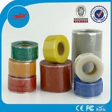 Multi colors silicone pipe Silicone Stretch & Seal Tape BLUE Radiator Hose Repair, wiring waterproof hose repair tape