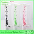 china fabrico de moda promocional de plástico barato caneta caixa de presente