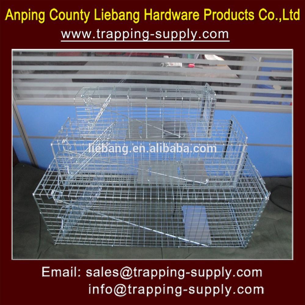 Levende dieren val kooi kat eekhoorn skunk konijn wezel rat vangen in ongediertebestrijding - Kooi trap ...