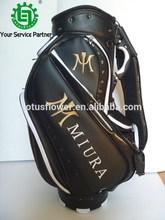 2015 New Style Custom Golf Luxury PU Cart Bag