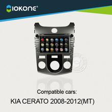 Android wifi dashboard touch screen car multimedia center audio player for KIA CERATO manual 2008-2012