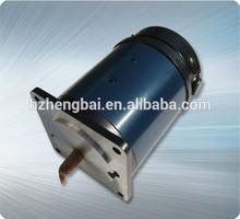 90mm high toruqe rare earth permanent magnet dc servo motor for gear