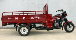air cooled cargo three wheel four wheel tricycle