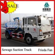 china sinotruk vacuum sewage suction tank truck