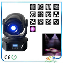 Pro party event decoration dmx 40w beam moving head spot light,color changing Moving Head Spot