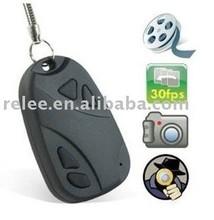 Cheap hidden car key camera 8gb/16gb 808 car keys micro camera