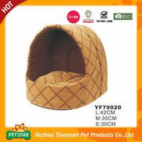 TOP!!! Promotional Factory Direct Comfortable Fancy Soft Designer Dog House Bed