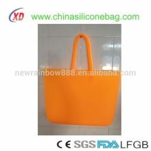 Big light functional silicone Waterproof beach bag fashion shopping bag