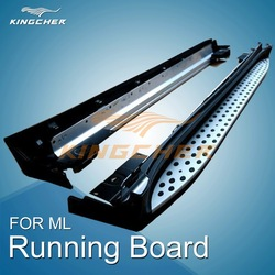 OEM style Running board side step nerf bar apply to Mercedes benz ML350 W164