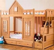 Safe Practical Home Use Modern Fashionable Kids Bunk Bed