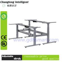Malaysia electric height adjustable metaln desk legs&office reception desk frame