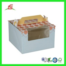 Q582 2015 OEM/ODM China Factory Wholesale Creative Cheap Cupcake Packaging With Handle