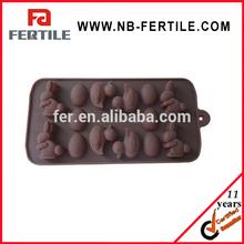 WJL 112272 popular chocolate molds/ animal shaped silicone cake mould/ silicone chocolate molds