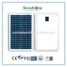 Portable Easy Install 20W Solar Panel Kit solar small home use system solar street light power with TUV/PID/CEC/CQC/IEC/CE