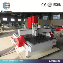 Low cost!!! wood cnc router 1325 Unich cnc router machine for aluminum