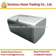 SINOTRUK HOWO engine parts 400L aluminum diesel fuel tank WG9925550001 , 700X700X900