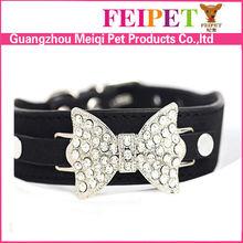 Wholesale beautiful rhinestone dog collar pet accesories supplies