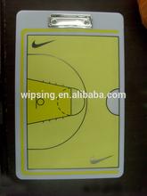 sports coach clipboards / basketball coach plastic clipboard