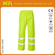 [Hot] Professional USA Reflective tapes Hi Vis 100% Polyester Safety Work Trousers Work Pants