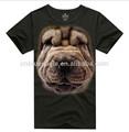 Personalizado cão/tigre 3d t- shirt sexo fotos meninas novo estilo t- shirt 3d impressora 3d design de t- camisas