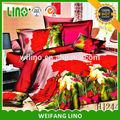 Colchas y edredones/navidad juegos de cama/rey super ropa de cama edredones establece