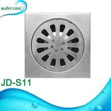 stainless steel rectangular floor drain bathroom floor drain JD-S11