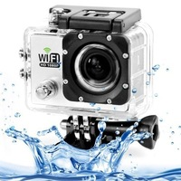 """2015 New Style 2.0""""LCD Full HD 1080P Camcorder 12MP CMOS Diving 30M Waterproof WIFI Sport DV Video Cam DVR"""