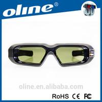 Universal 3D TV Eyewear Active Shutter DLP Link Glasses
