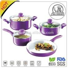 ECO Friendly FDA/LFGB Pressed Aluminum Best Ceramic Cookware