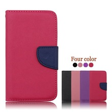 Wholesale Alibaba Flip Wallet Case for LG L80,PU Leather Case Cover For LG L80