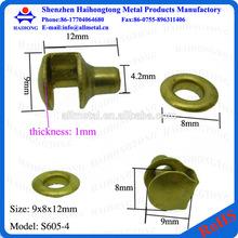 China manafacturer metal shoes eyelets and hooks shoe lace hooks
