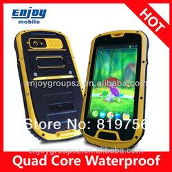 MTK6589 OEM custom android mobile phone android phone waterproof