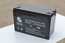 Sealed lead acid battery 12v100ah China manufacturer