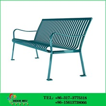 Metal Bench Chair Garden Bench Chair for Outdoor Parks
