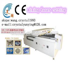 Aok 1325 usado profissional máquina de corte a laser corte de aço